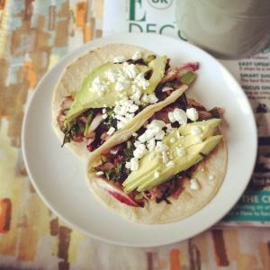 avocado tortilla